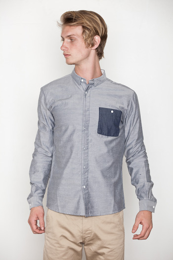 Lifetime Collective - Closer Button Up Pocket Woven