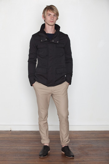 Kai-aakmann Men's - Funnel Neck Field Jacket
