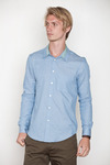 Opening-ceremony-trimmed-collar-chambray-shirt