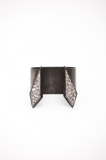 Lady Grey - Gunmetal Split Apex Cuff