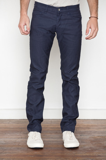 Wings + Horns - Navy German Corded Cloth Pant