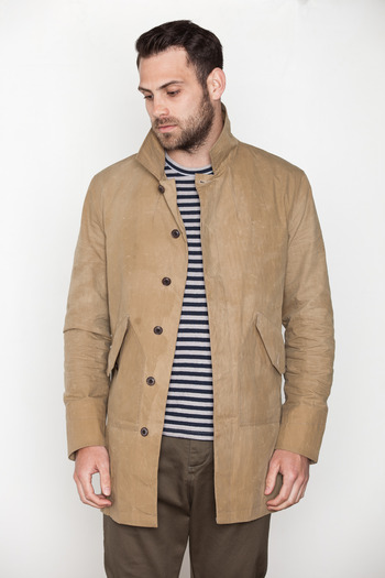 Wings + Horns - Lightweight Mac Coat