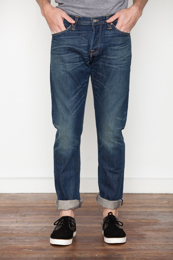 Wings + Horns - Worker Wash Straight Fit Jeans