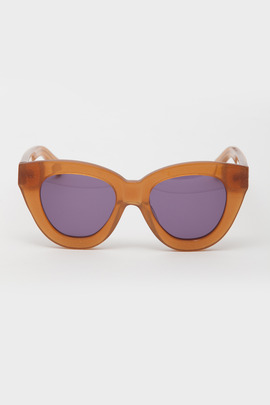 Karen Walker Tan Anytime Sunglasses