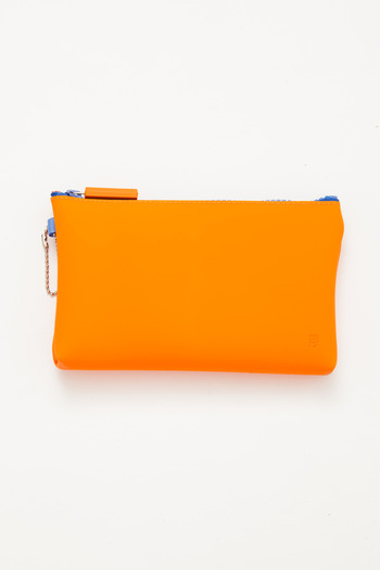 Ikuyo Ejiri - Orange Nuu Zip Pouch