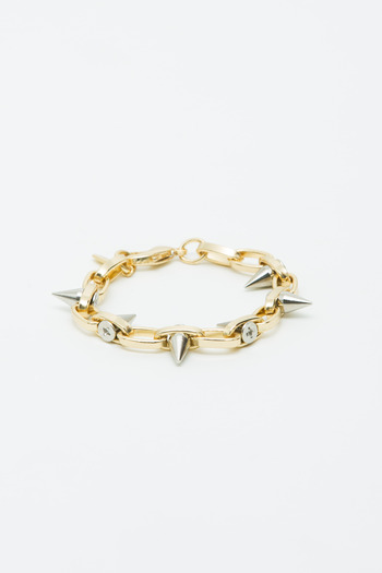 Joomi Lim - Exclusive Gold/Silver Switchback Spike Bracelet