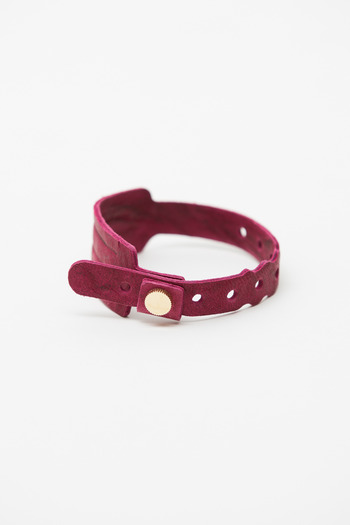 Cast of Vices - Fuchsia/Gold Coming or Going Bracelet