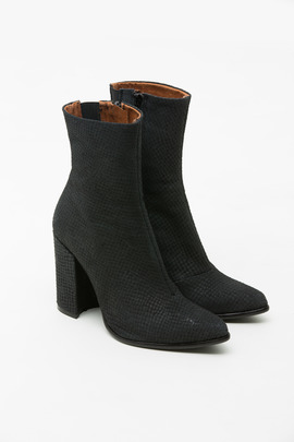 Jeffrey Campbell Black Snake Perfection Boot