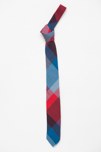Gitman Bros. Vintage - Red/Blue Plaid Tie