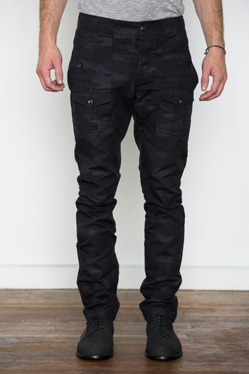 Wings + Horns - Camo Jacquard Bush Pant