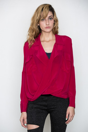 Funktional - Silk Fold Front Top
