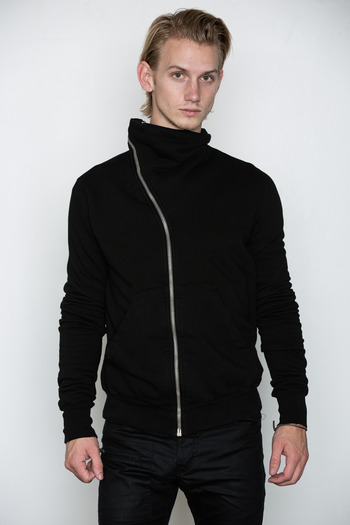 DRKSHDW Men's - Asymmetric Zip Sweat Jacket