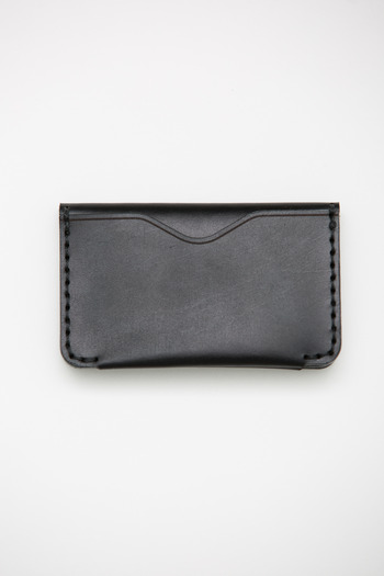Makr - Black Chromexcel Horizon 3 Wallet