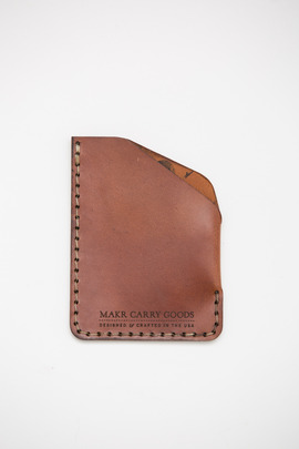 Makr Bark Chromexcel Angle Wallet