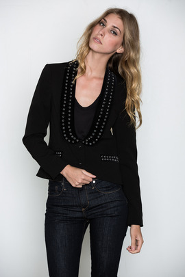 Something Else Studded Blazer