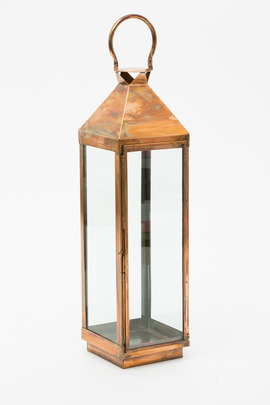 Roost Large Copper Carriage Lantern