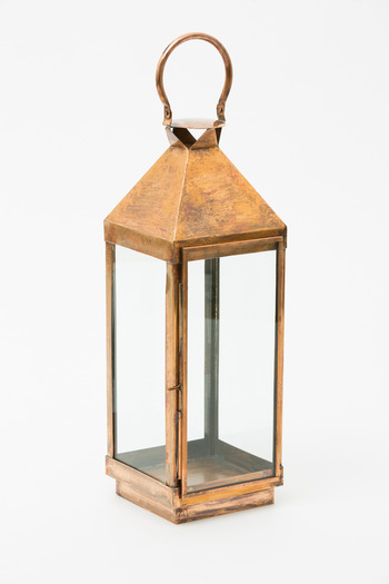 Roost - Medium Copper Carriage Lantern