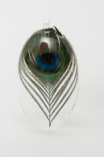 Roost - Small Peacock Feather Ornament