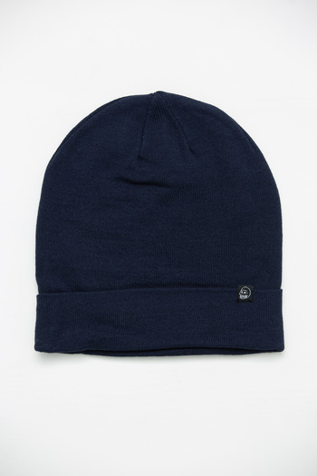 Buy cheap man hats. - Cheap Monday Men\'s Dark Blue Em Hat, DK BLUE, O/S