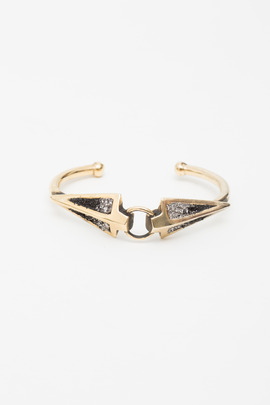 Lady Grey Reflected Spear Bangle