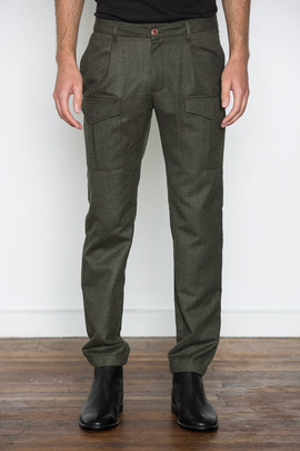Kai-aakmann Men's Slim Cargo Pant