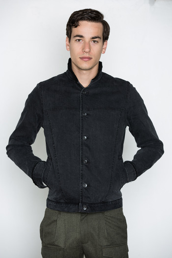Robert Geller - Denim Motor Jacket
