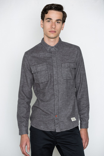 Lifetime Collective - Heather Charcoal Hadda Shirt