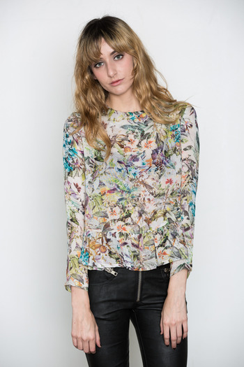 Rodebjer - Landon Flower Blouse