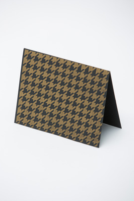 Alissa Bell Houndstooth Card