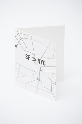 Alissa Bell SF>NYC Card