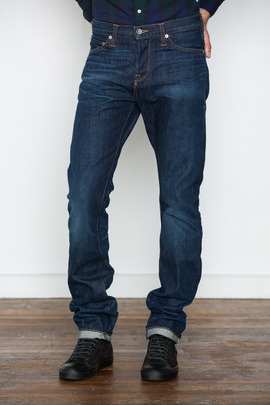 Wings + Horns 1 Year Wash Straight Leg Jeans