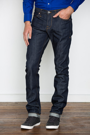 Wings + Horns - Raw Straight Fit Jeans