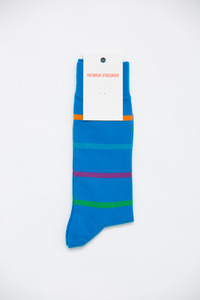 Henrik Vibskov Men's Blue Airport Socks