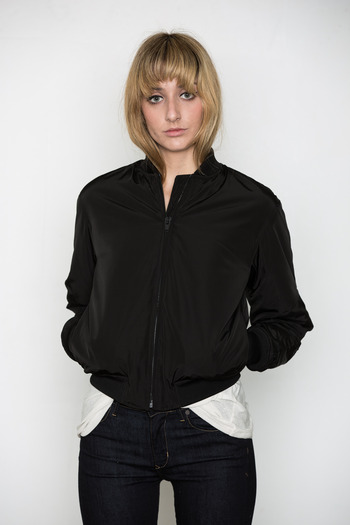 T by Alexander Wang Women's - Quilted Nylon Bomber Jacket