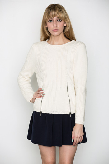 Ann-Sofie Back - Cable Knit Sweater