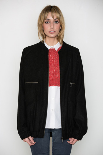 Ann-Sofie Back - Zip Bomber Coat