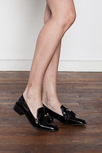 Jeffrey Campbell - Lawford Patent Tassel Loafer