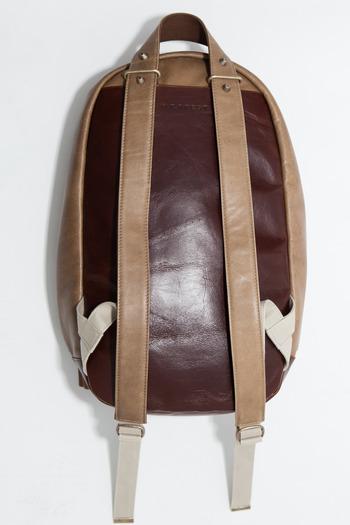 Haerfest - Taupe/Burnt Umber Combo Backpack
