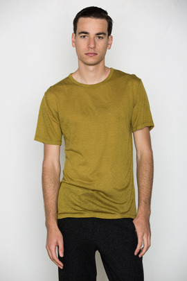 T by Alexander Wang Men's Wool Blend S/S Tee