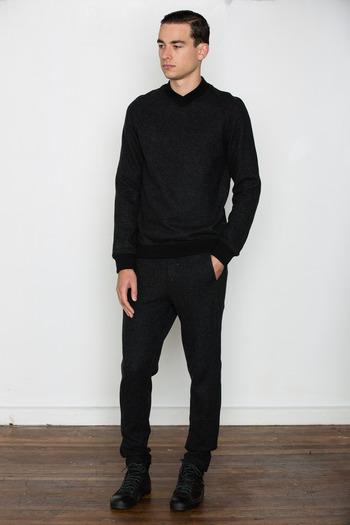 T by Alexander Wang Men's - Brushed Wool V-Neck