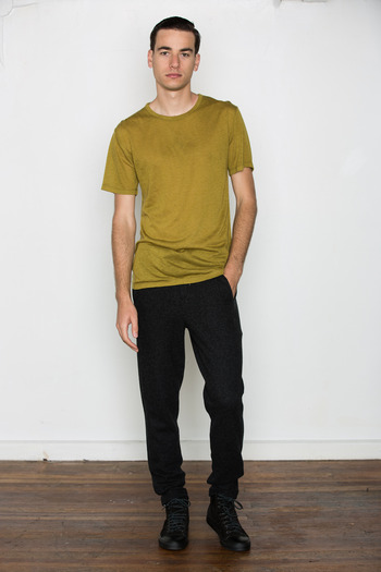 T by Alexander Wang Men's - Wool Blend S/S Tee
