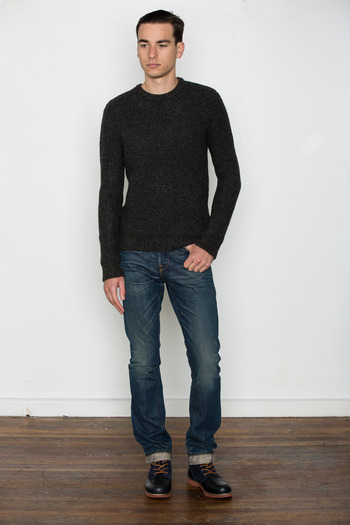 T by Alexander Wang Men's - Honeycomb Stitch Pullover