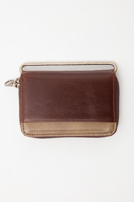 Haerfest Burnt Umber/Taupe Modular Zip Wallet