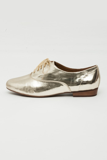 Jeffrey Campbell - Gold Uniform Oxford