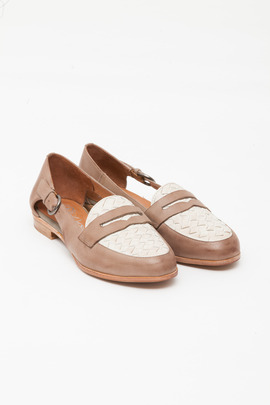Jeffrey Campbell Vernon Woven Cut-out Loafer