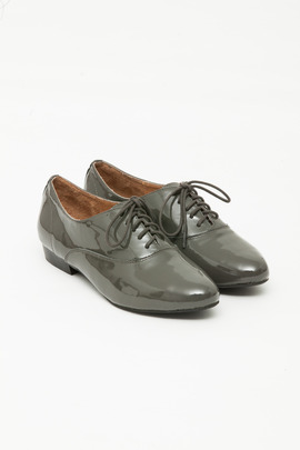 Jeffrey Campbell Pewter Uniform Oxford