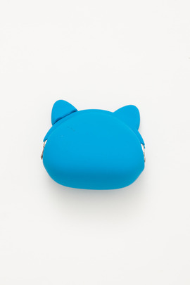 Ikuyo Ejiri Blue Pochi Cat Coin Purse
