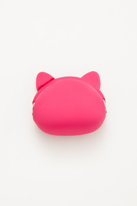 Ikuyo Ejiri Magenta Pochi Cat Coin Purse
