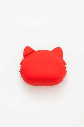 Ikuyo Ejiri Red Pochi Cat Coin Purse
