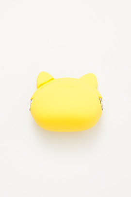 Ikuyo Ejiri Yellow Pochi Cat Coin Purse